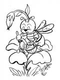 coloriages abeille