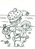 coloriages charlotte aux fraises