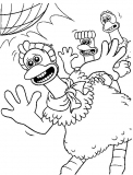 coloriages chicken run