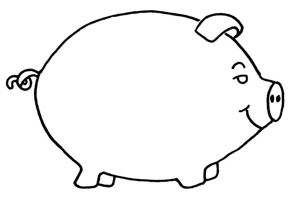 coloriages cochons
