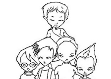 coloriages code lyoko