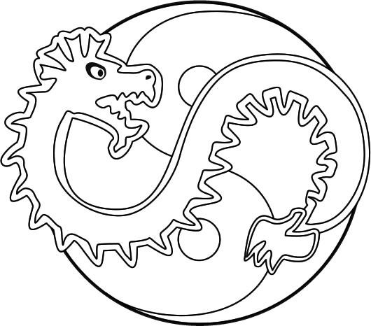 coloriages dragon