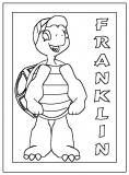 coloriages franklin