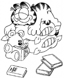 coloriages garfield