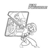 coloriages kim possible