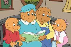 coloriages la famille berenstain