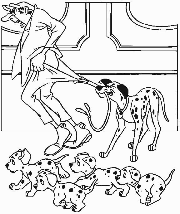 coloriages les 101 dalmatiens