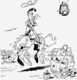 coloriages lucky luke