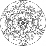 coloriages mandala