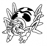coloriages maya l'abeille