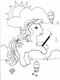 coloriages mon petit poney