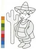 coloriages motifs