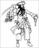 coloriages pirate
