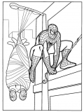 coloriages spiderman