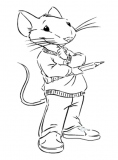 coloriages stuart little