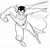 coloriages superman