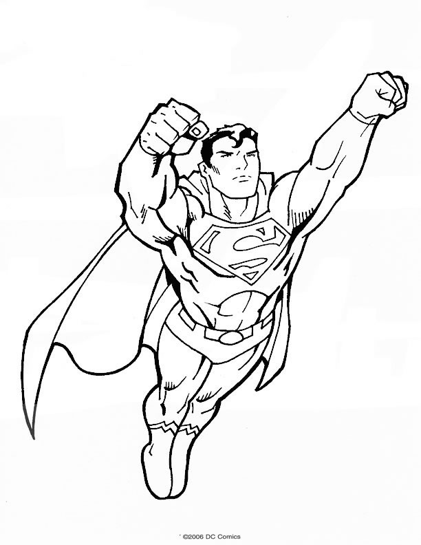 coloriages superman