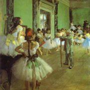 Degas - CLasse de danse