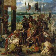 Delacroix - L'entrée des croisées à Constantinople