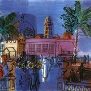 Dufy - Le casino de Nice