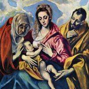 El Greco - La sainte famille