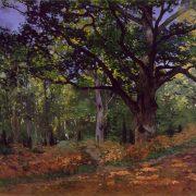 Monet - Le chêne, forêt de Fontainebleau