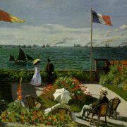 Monet - La plage de Sainte-Adresse