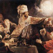 Rembrandt - Beltschatsar