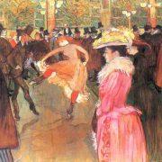 Toulouse-Lautrec - Le bal du Moulin Rouge