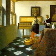 Vermeer - La leçon de musique