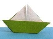 Origami - Pilage Bateau en Papier