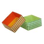 Origami - Pliage Boite en Papier