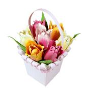 Fleurs en papier - Bouquet de tulipes