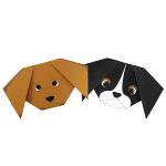 Origami - Pliage Chien en Papier