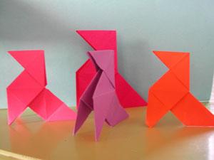 Origami - Pliage Cocotte en Papier