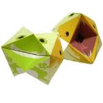 Origami - Pliage Coin-Coin en Papier