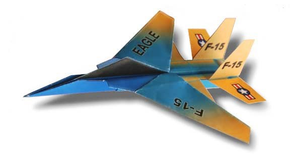 Origami - Pliage avion papier