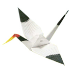 Origami - Pliage Grue en Papier
