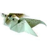 Origami - Pliage Phoque en Papier