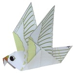 Origami - Pliage Pigeon en Papier