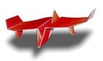 Origami - Pliage avion papier - Sea Plane