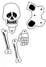 Pantin squelette articulé